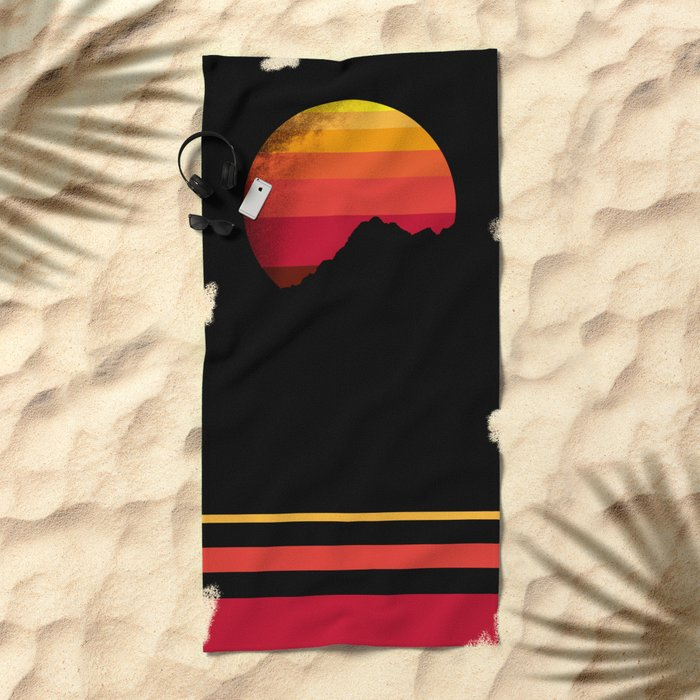 sandstorm Beach Towel
