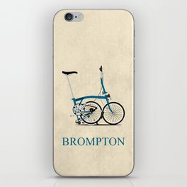 Brompton Bike iPhone Skin