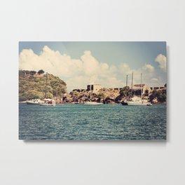 English Harbour, Nelson's Dockyard, Antigua Metal Print