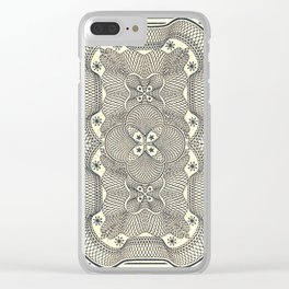 Seventy-nine Clear iPhone Case