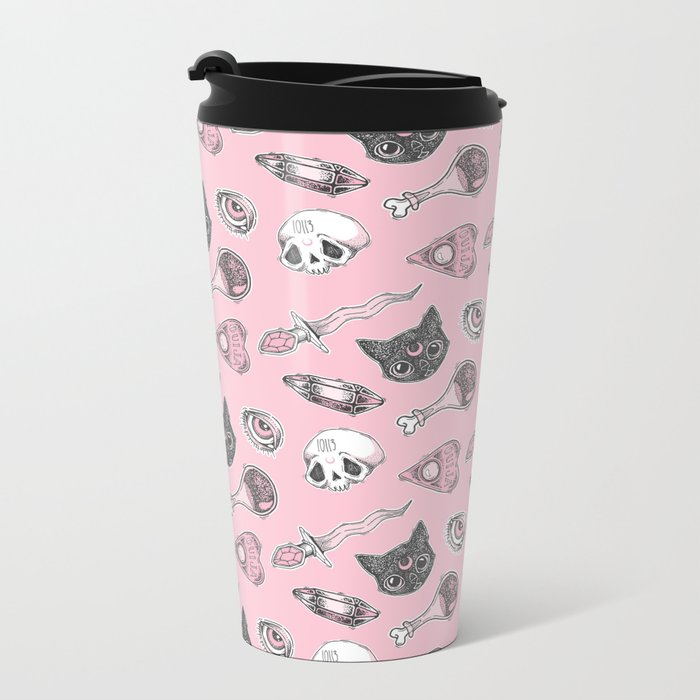 I Put a Spell on You (2nd version) Metal Travel Mug