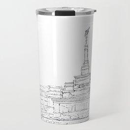 Reno Nevada LDS Temple Sketch Travel Mug