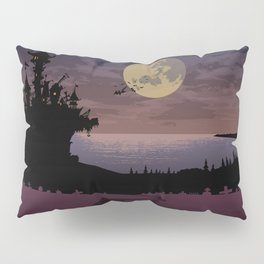 Halloween castle Pillow Sham