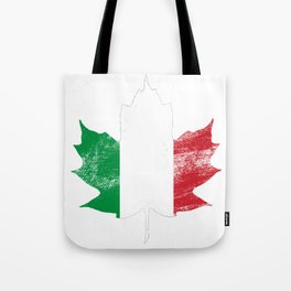 Italy/Canada Tote Bag