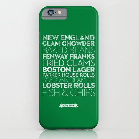 Boston — Delicious City Prints iPhone & iPod Case