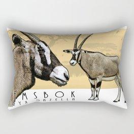 Gemsbok Rectangular Pillow