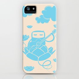 Lotus&Guitar iPhone Case