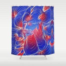 Übermench Shower Curtain