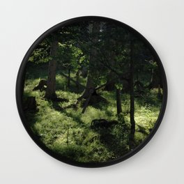 Wood as a chance of existence - 2 Wall Clock