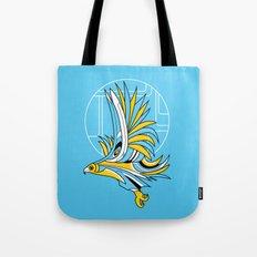 Hawk Deco Tote Bag