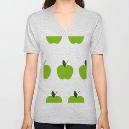 Green Apples Unisex V-Neck