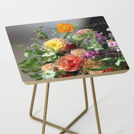 Flower Design 11 Side Table