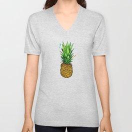 Pineapple Dreams Unisex V-Neck
