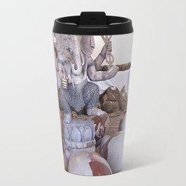 Shiva lingams  with Ganesh Travel Mug