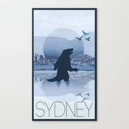 Every City Has Its Creature - Sydney Canvas Print
