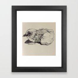 Mickey Chickey Framed Art Print