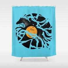 Disc Jockey Shower Curtain