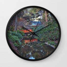 Japanese Gardens, Descanso Gardens Wall Clock