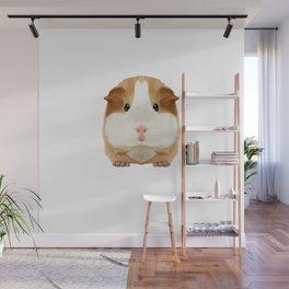 Guinea Pig Just A Girl Loves Wheek Gift Idea Wall Mural