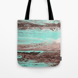 Tidal Shifts of Dawn and Dusk Tote Bag
