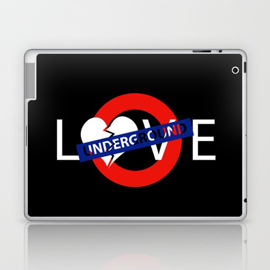 UNDERGROUND LOVE Laptop & iPad Skin