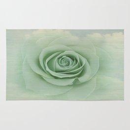 Dreamy Vintage Floating Rose Rug