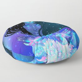 Nocturnal Goddess Floor Pillow