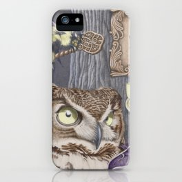 Keepers of Forbidden Knowledge iPhone Case