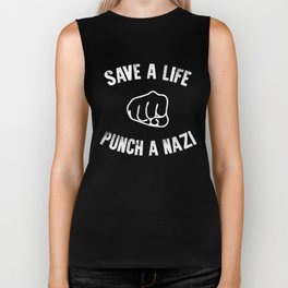 Save a Life (light) Biker Tank