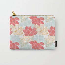 Lotus Carousal Carry-All Pouch