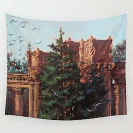What Comes From Above Wall Tapestry