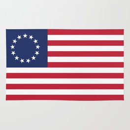 Betsy Ross flag of the USA - Authentic HQ version Rug