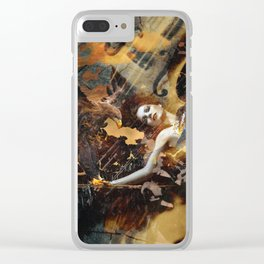 wasted Clear iPhone Case