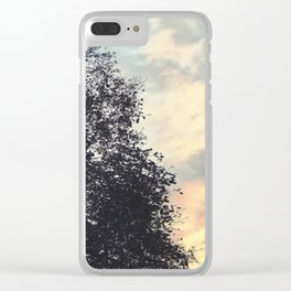 Emptiness Dancing Clear iPhone Case