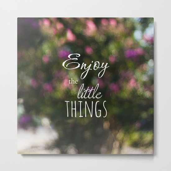 Enjoy Metal Print