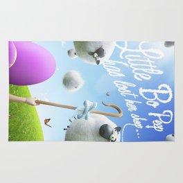 Little Bo Peep - Nursery Rhyme Inspired Art Rug