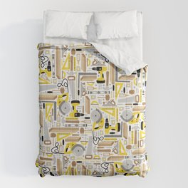 Measure Twice, Cut Once Comforters
