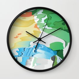 Who likes Red Blue and Green? Wall Clock