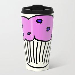 Blueberry Muffin Metal Travel Mug