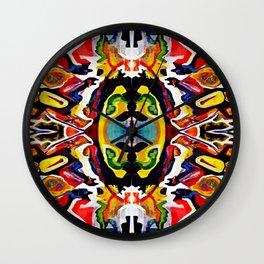 Afri-Kaleido Wall Clock
