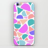 icecream iPhone & iPod Skins featuring ICECREAM by Isabella Salamone