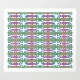 Elegant Neo-Tribal Pattern Art Print