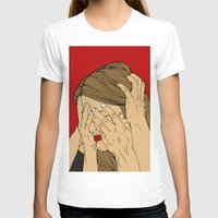introvert T-shirts featuring Introvert 5 by Heidi Banford