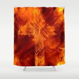 The Cross4 Shower Curtain
