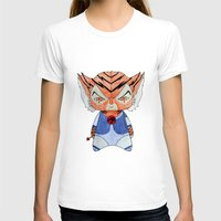 thundercats T-shirts featuring A Boy - Tygra (Thundercats) by Christophe Chiozzi