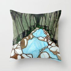Landscapes / Nr. 7 Throw Pillow