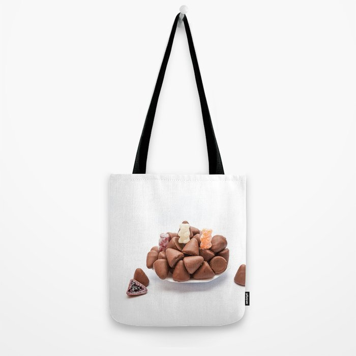 the cuberdons chocolate Tote Bag