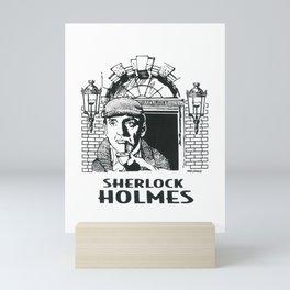 221B / Sherlock Holmes Lodgings by Peter Melonas Mini Art Print