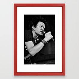 Whibley/Sum 41 Framed Art Print