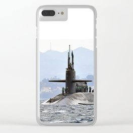 USS FLORIDA (SSGN-728) Clear iPhone Case